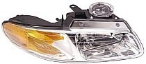 2000 Plymouth Voyager Headlight Assembly (without Quad Headlamps / without Daytime Running Lights - Right (Passenger)