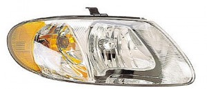2005-2007 Chrysler Town & Country Headlight Assembly (with 113 Inch Wheelbase) - Right (Passenger)