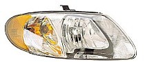 2001 - 2007 Dodge Caravan Front Headlight Assembly Replacement Housing / Lens / Cover - Right (Passenger)