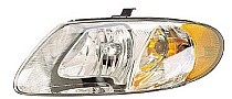2001 - 2007 Plymouth Voyager Front Headlight Assembly Replacement Housing / Lens / Cover - Left (Driver)