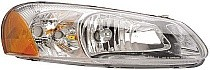 2003 - 2004 Chrysler Sebring Front Headlight Assembly Replacement Housing / Lens / Cover - Right (Passenger)