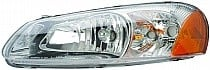 2003 - 2004 Chrysler Sebring Headlight Assembly - Left (Driver)