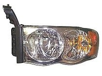 2002 - 2005 Dodge Ram Headlight Assembly - Left (Driver)