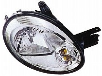 2003 - 2005 Dodge Neon Front Headlight Assembly Replacement Housing / Lens / Cover - Right (Passenger)