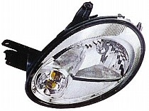 2003 - 2005 Dodge Neon Front Headlight Assembly Replacement Housing / Lens / Cover - Left (Driver)