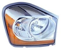 2006 Dodge Durango Front Headlight Assembly Replacement Housing / Lens / Cover - Right (Passenger)