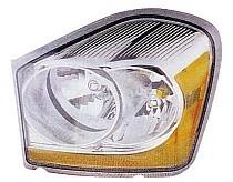 2004-2006 Dodge Durango Headlight Assembly - Left (Driver)