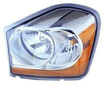 2006 Dodge Durango Front Headlight Assembly Replacement Housing / Lens / Cover - Left (Driver)