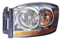 2006 Dodge Ram Front Headlight Assembly Replacement Housing / Lens / Cover - Left (Driver)