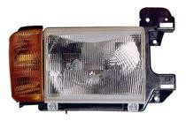 1987 - 1991 Ford F-Series Pickup Headlight Assembly (without Bright Trim / Includes Park Lamp) - Right (Passenger)