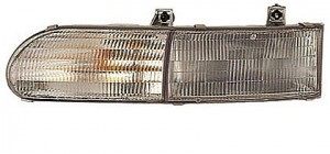1992-1995 Ford Taurus Headlight Assembly (L/GL Model / Includes Parklamp) - Left (Driver)