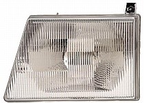1997 - 2007 Ford Econoline Van Headlight Assembly - Left (Driver)