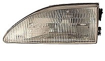1994 - 1998 Ford Mustang Headlight Assembly (Excluding Cobra) - Left (Driver)