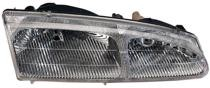 1996 - 1997 Mercury Cougar Front Headlight Assembly Replacement Housing / Lens / Cover - Right (Passenger)