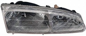 1996-1997 Mercury Cougar Headlight Assembly - Right (Passenger)