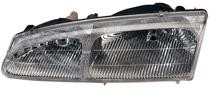 1996 - 1997 Mercury Cougar Headlight Assembly - Left (Driver)