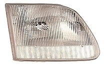 1997 - 2000 Ford F-Series Heritage Pickup Front Headlight Assembly Replacement Housing / Lens / Cover - Right (Passenger)