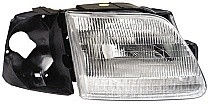1997-1997 Ford F-Series Heritage Pickup Headlight Assembly - Left (Driver)