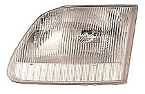 2001 - 2004 Ford F-Series Pickup Headlight Assembly - Left (Driver)