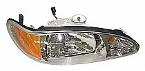 1997 - 1999 Mercury Tracer Headlight Assembly - Right (Passenger)