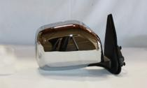2001 - 2004 Toyota Tacoma Side View Mirror (Non-Heated + Power Remote + Chrome) - Right (Passenger)