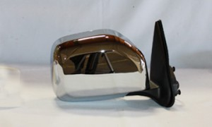 2001-2004 Toyota Tacoma Side View Mirror (Non-Heated / Power Remote / Chrome) - Right (Passenger)