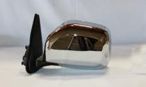 2001 - 2004 Toyota Tacoma Side View Mirror (Non-Heated + Power Remote + Chrome) - Left (Driver)