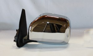 2001-2004 Toyota Tacoma Side View Mirror (Non-Heated / Power Remote / Chrome) - Left (Driver)