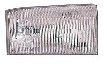 2000 - 2001 Ford Excursion Front Headlight Assembly Replacement Housing / Lens / Cover - Right (Passenger)