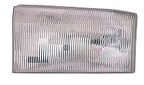1999 - 2001 Ford F-Series Super Duty Pickup Headlight Assembly - Left (Driver)