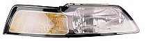 1999 - 2000 Ford Mustang Headlight Assembly - Right (Passenger)