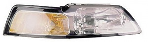 1999-2000 Ford Mustang Headlight Assembly - Right (Passenger)