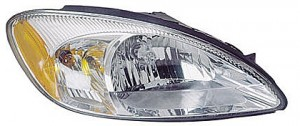 2000-2007 Ford Taurus Headlight Assembly (without Bulbs & Harness) - Right (Passenger)