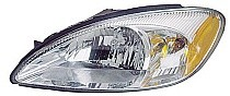 2000 - 2007 Ford Taurus Headlight Assembly (without Bulbs & Harness) - Left (Driver)