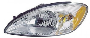 2000-2007 Ford Taurus Headlight Assembly (without Bulbs & Harness) - Left (Driver)