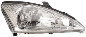 2000-2002 Ford Focus Headlight Assembly - Right (Passenger)