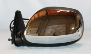 2000-2004 Toyota Tundra Pickup Side View Mirror (Heated Power Remote) - Left (Driver)