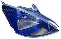 2002 - 2003 Ford Focus Headlight Assembly (SVT + Halogen) - Right (Passenger)