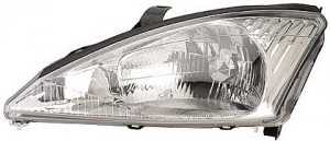 2000-2002 Ford Focus Headlight Assembly - Left (Driver)
