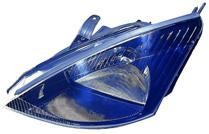 2002 - 2003 Ford Focus Headlight Assembly (SVT + Halogen) - Left (Driver)