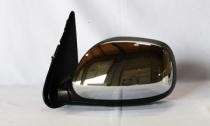 2003 - 2006 Toyota Tundra Pickup Side View Mirror Replacement (Non-Heated + Power Remote + Chrome + Tundra SR5) - Left (Driver)