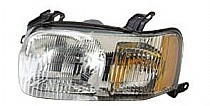 2001 - 2004 Ford Escape Headlight Assembly - Left (Driver)