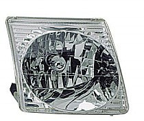 2001 - 2003 Ford Explorer Front Headlight Assembly Replacement Housing / Lens / Cover - Right (Passenger)