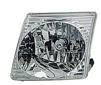 2001 - 2005 Ford Explorer Sport Trac Headlight Assembly - Left (Driver)