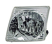 2001 - 2005 Ford Explorer Sport Trac Front Headlight Assembly Replacement Housing / Lens / Cover - Left (Driver)