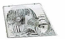 2002 - 2005 Ford Explorer Front Headlight Assembly Replacement Housing / Lens / Cover - Right (Passenger)