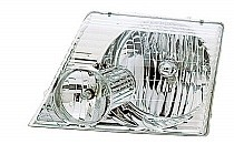 2002 - 2005 Ford Explorer Headlight Assembly - Left (Driver)