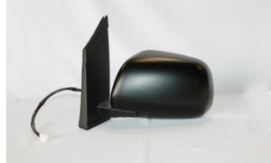 2004-2010 Toyota Sienna Side View Mirror (Non-Heated / Power Remote / without Auto Dimmer / Black) - Left (Driver)
