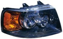 2003 - 2006 Ford Expedition Headlight Assembly (with Black Bezel) - Right (Passenger)