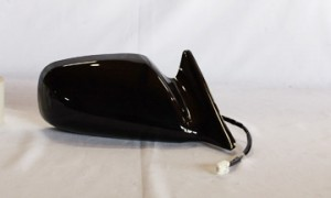 1999-2003 Toyota Solara Side View Mirror (Non-Heated / Power Remote / Black) - Right (Passenger)
